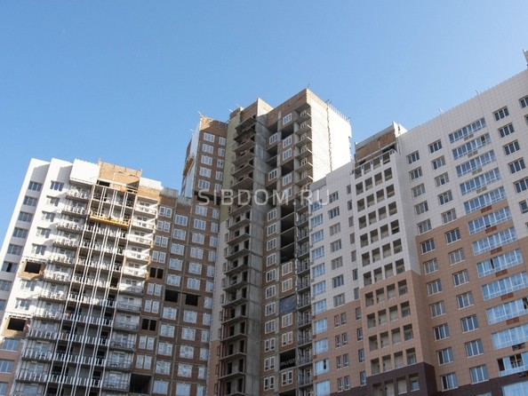 Фото Жилой комплекс ОГНИ СИБИРИ, дом 2, Ход строительства март 2019