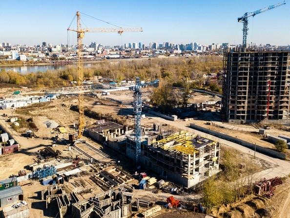 Фото Жилой комплекс ЯСНЫЙ БЕРЕГ, дом 10, б/с 1-3 , Ход строительства 8 октября 2018