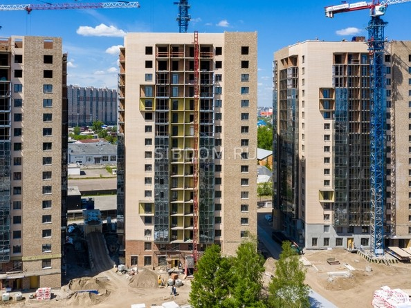 Фото Микрорайон SCANDIS (Скандис), дом 2, Ход строительства 9 июня 2019