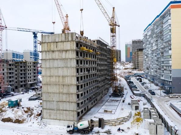 Ход строительства 20 февраля 2019