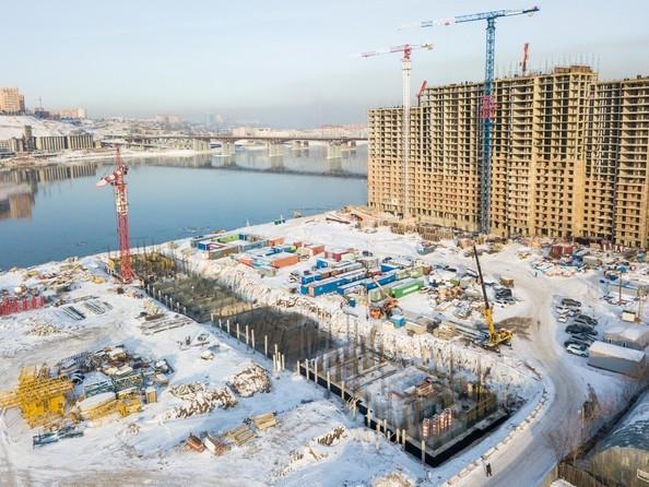 Ход строительства 5 февраля 2018
