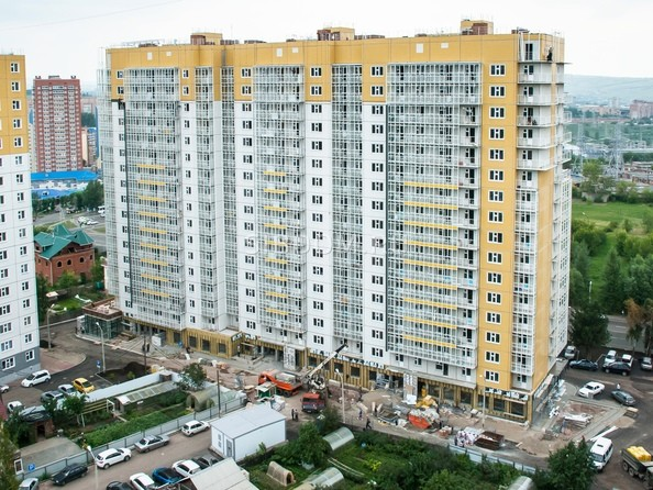 Фото Жилой комплекс КУРЧАТОВА, дом 6, стр 1, Ход строительства 17 июля 2019