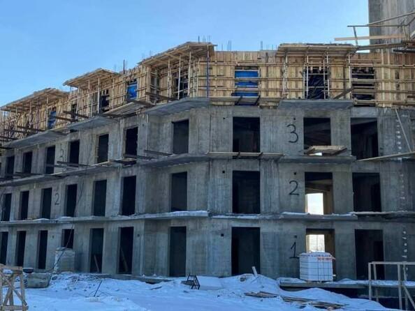 Блок-секция 3. Ход строительства 4 марта 2021