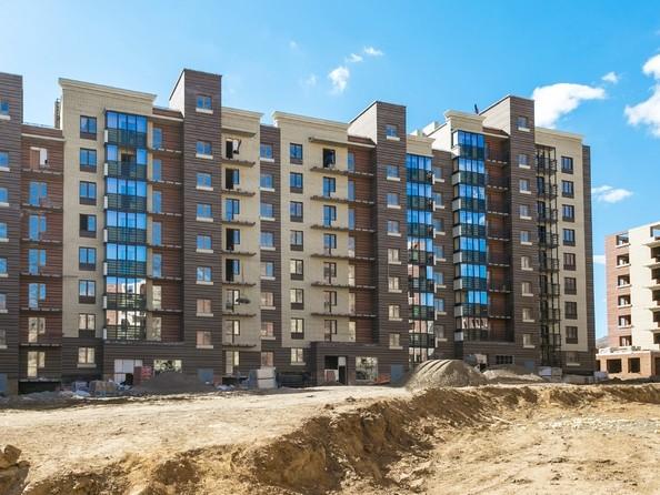 Фото Жилой комплекс Академгородок, дом 1, корп 1, Ход строительства 23 апреля 2019