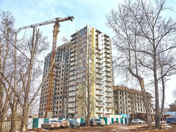 Фото Жилой комплекс ГРАНД-ПАРК, б/с 1.1, Ход строительства 28 марта 2018