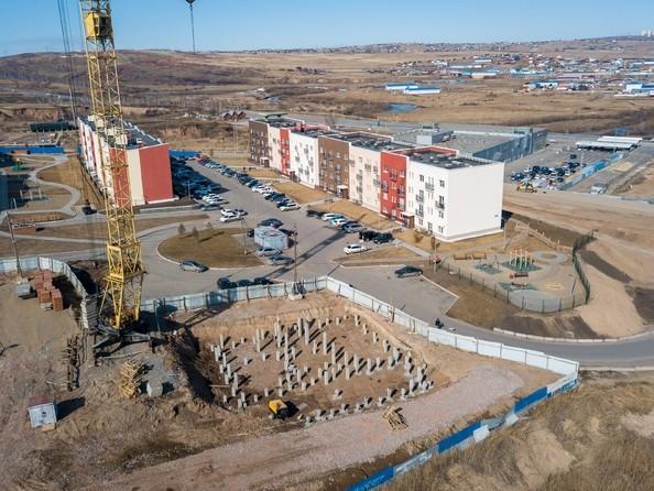 Фото ЖИВЁМ эко-район, 5 квартал, дом 1, Ход строительства 7 апреля 2019