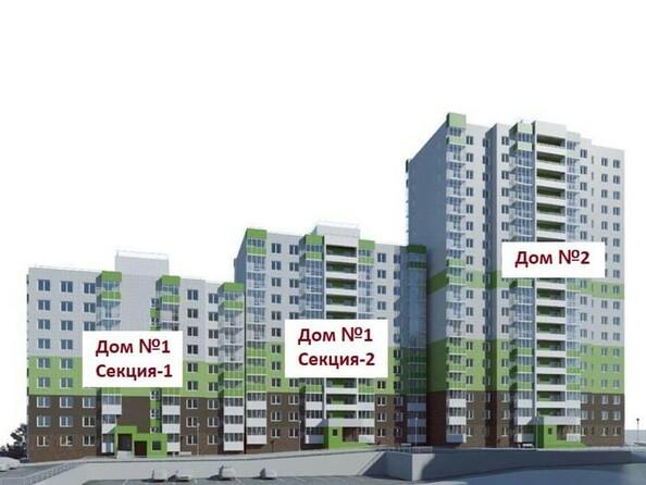 Расположение блок-секций ЖК «Новый рекорд»