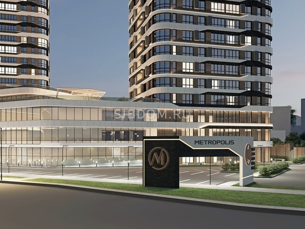 Благоустройство жилого комплекса «Метрополис»