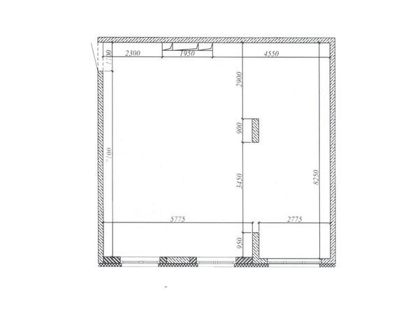 Планировка 2-комн 71,1, 71,2 м²