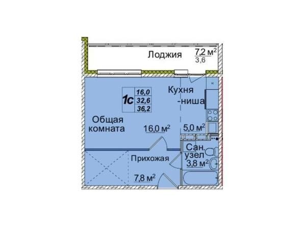 Планировки Жилой комплекс ВОСТОЧНЫЙ, 85/1б