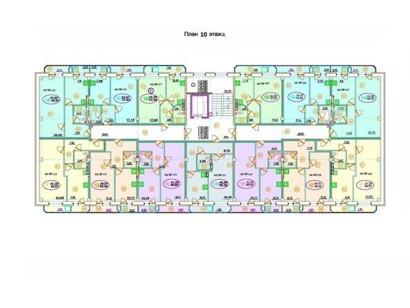 Планировка 10 этажа