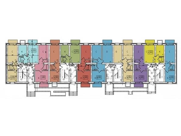 Блок 6. Планировка 1 этажа
