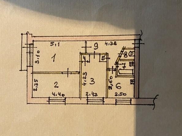 Продам 3-комнатную, 51 м², Красноармейский пр-кт, 131. Фото 1.