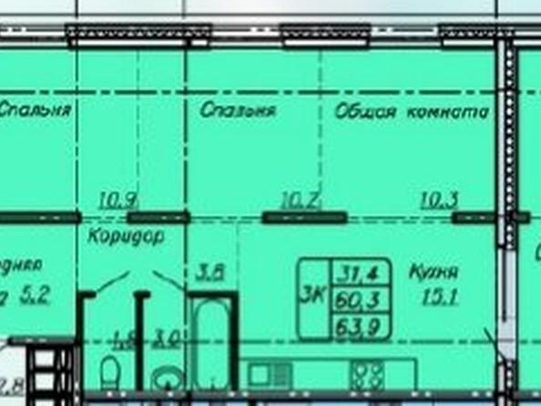 Продам 3-комнатную, 63.9 м², Павловский тракт, 168. Фото 1.