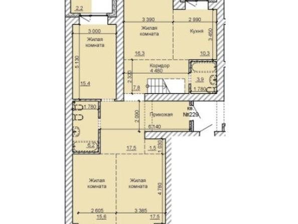 Продам 4-комнатную, 127.1 м2, . Фото 1.