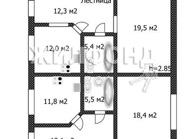 Продам коттедж, 208.6 м², Барнаул. Фото 20.
