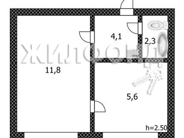 Продам 1-комнатную, 24.2 м², Советской Армии ул, 50Ак1. Фото 14.