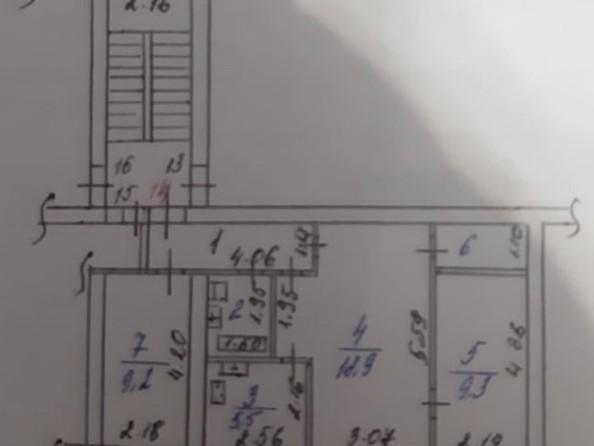Продам 3-комнатную, 53.1 м², Розы Люксембург ул, 33. Фото 13.