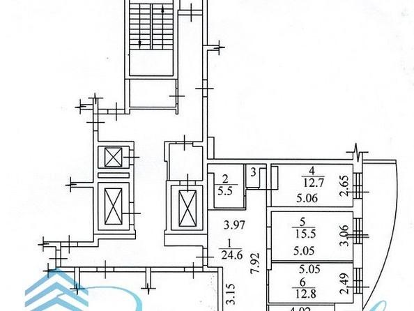 Продам 3-комнатную, 88 м², Кузьмы Минина ул, 9/2. Фото 24.