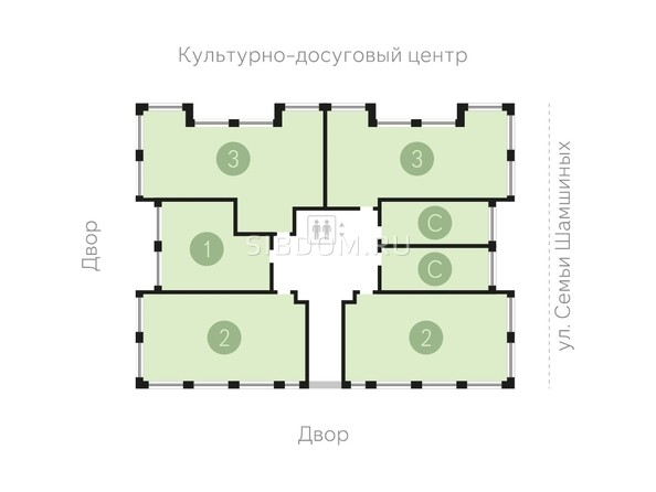 Продам 3-комнатную, 84.21 м2, МЫЛЗАВОД, урбан-вилла 1. Фото 9.
